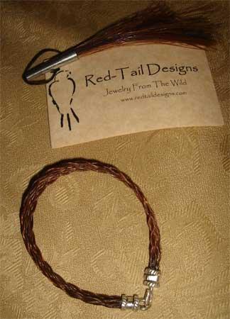 Red Blonde Bracelet