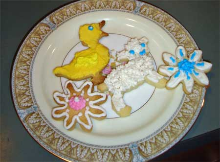 Toast to Spring Cookies