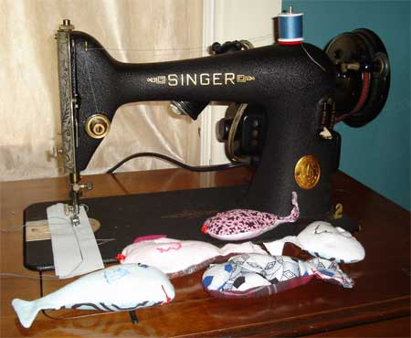 Sewing Machine and fish