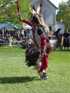 Dancer from the Spring Powwow